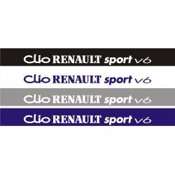 Bandeau pare soleil Clio Renault Sport V6