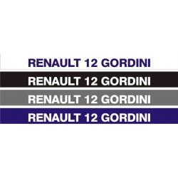 Bandeau pare soleil Renault 12 Gordini