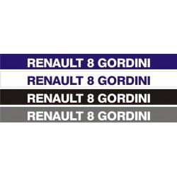 Bandeau pare soleil Renault 8 Gordini