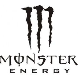 Autocollant Monster Energy - Taille et Coloris au choix