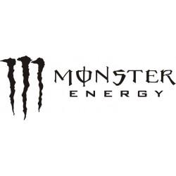 Autocollant Monster Energy 2 - Taille et Coloris au choix