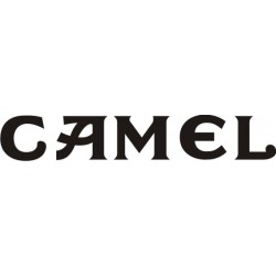 Autocollant Camel - Taille et Coloris au choix
