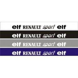 Bandeau pare soleil Renault Elf 2