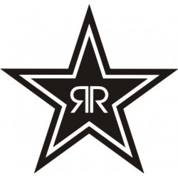Autocollant Rockstar 2 - Taille et Coloris au choix