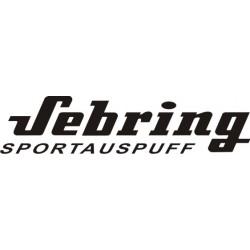 Autocollant Sebring 1 - Taille et Coloris au choix