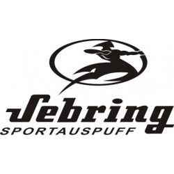 Autocollant Sebring 3 - Taille et Coloris au choix