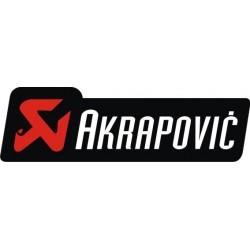 Autocollant AKRAPOVIC 7 - Taille au choix