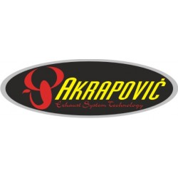 Autocollant AKRAPOVIC 10 - Taille au choix