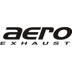 Autocollant Aero Exhaust - Taille et Coloris au choix