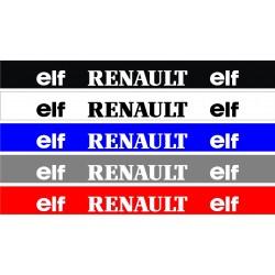 Bandeau pare soleil Renault Elf 4