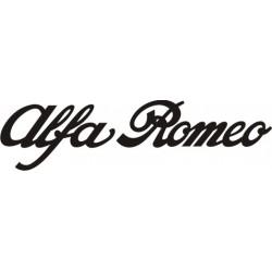 Sticker Alfa Roméo - Taille et Coloris au choix