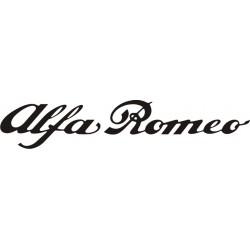 Sticker Alfa Roméo long - Taille et Coloris au choix