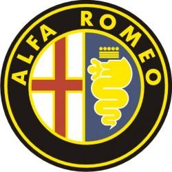 Sticker Alfa Roméo Logo - Taille et Coloris au choix