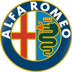 Sticker Alfa Roméo Logo 2 - Taille et Coloris au choix