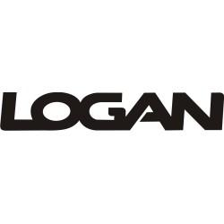 Sticker Dacia Logan - Taille et Coloris au choix