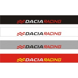 Bandeau pare soleil Dacia Racing - 130 cm x 15 cm