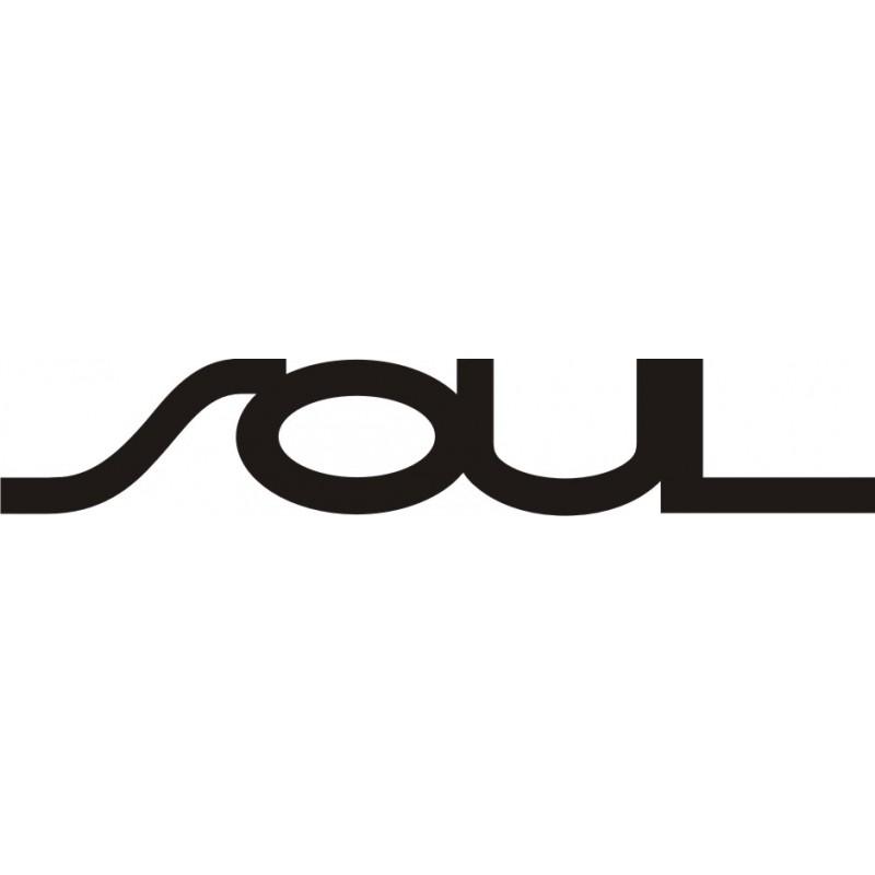 Sticker Kia Soul - Taille et Coloris au choix
