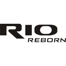 Sticker Kia Rio Reborn - Taille et Coloris au choix