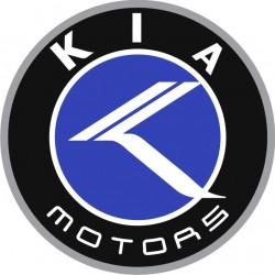 Sticker Kia Motors rond - Taille et Coloris au choix