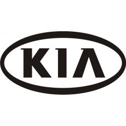 Sticker Kia Logo 2 - Taille et Coloris au choix