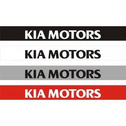 Bandeau pare soleil Kia Motors 2 - 130 cm x 15 cm