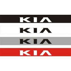 Bandeau pare soleil Kia 2 - 130 cm x 15 cm