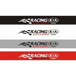 Bandeau pare soleil Kia Racing - 130 cm x 15 cm