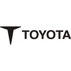 Sticker Toyota 1 - Taille et Coloris au choix