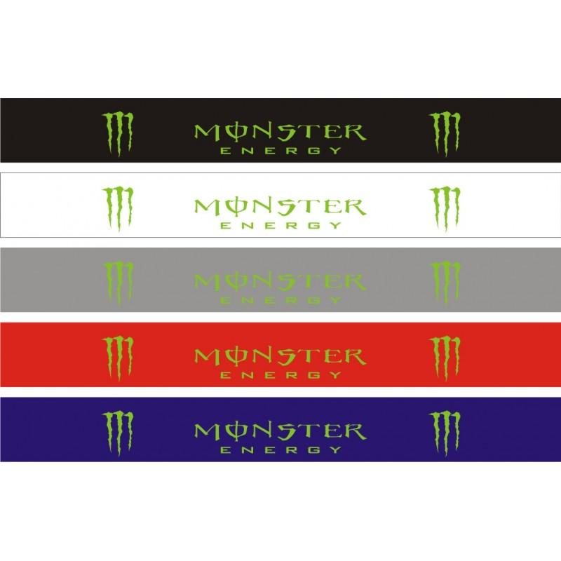 Bandeau pare soleil Monster Energy