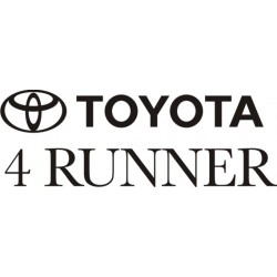Sticker Toyota 4 Runner - Taille et Coloris au choix