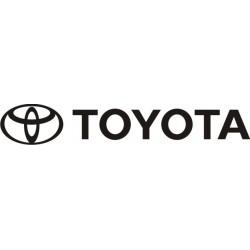 Sticker Toyota 4 - Taille et Coloris au choix