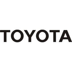 Sticker Toyota 7 - Taille et Coloris au choix