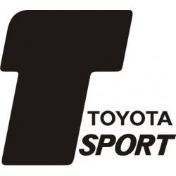 Sticker Toyota Sport 2 - Taille et Coloris au choix
