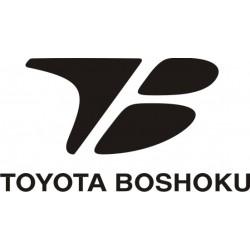 Sticker Toyota Boshoku 2 - Taille et Coloris au choix