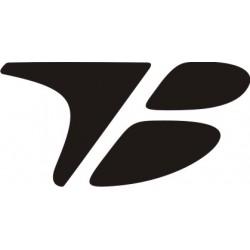 Sticker Toyota Boshoku 3 - Taille et Coloris au choix