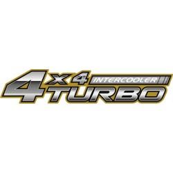 Autocollant 4x4 Turbo - Taille au choix
