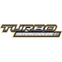 Autocollant Turbo Intercooler - Taille au choix