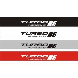 Bandeau pare soleil Turbo Intercooler - 130 cm x 15 cm