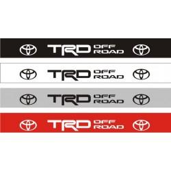 Bandeau pare soleil Toyota TRD Off Road - 130 cm x 15 cm