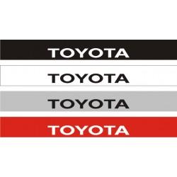 Bandeau pare soleil Toyota 2 - 130 cm x 15 cm