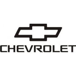 Sticker Chevrolet 3 - Taille et Coloris au choix
