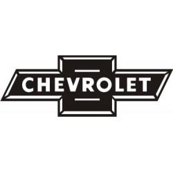 Sticker Chevrolet 4 - Taille et Coloris au choix