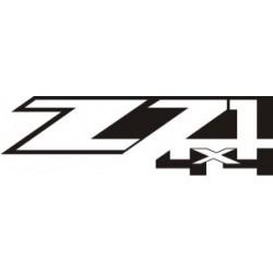 Sticker ZZ1 4x4 - Taille et Coloris au choix