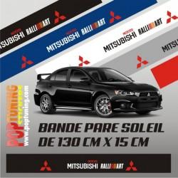 Bandeau pare soleil Mitsubishi Ralliart 3