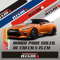 Bandeau pare soleil Nissan Nismo