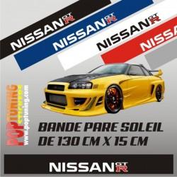 Bandeau pare soleil Nissan GTR