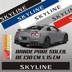 Bandeau pare soleil Nissan Skyline