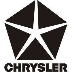 Sticker Chrysler 2 - Taille et Coloris au choix