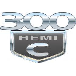 Sticker Chrysler 300C 1 - Taille au choix