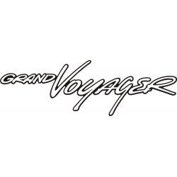 Sticker Chrysler Grand Voyager 1 - Taille et Coloris au choix